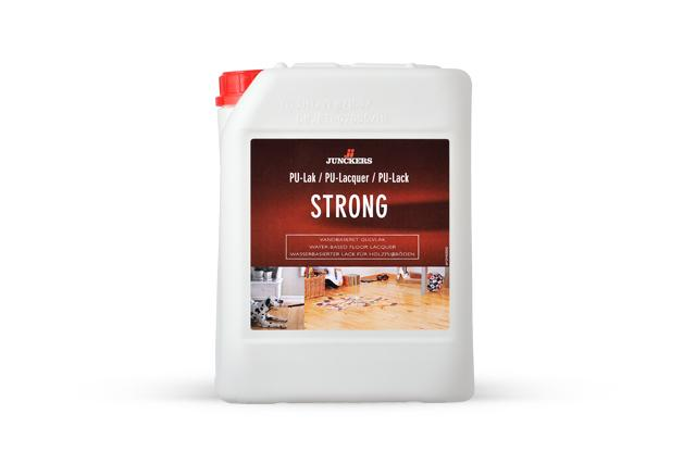 Strong One-component water-based urethane High/light traffic areas