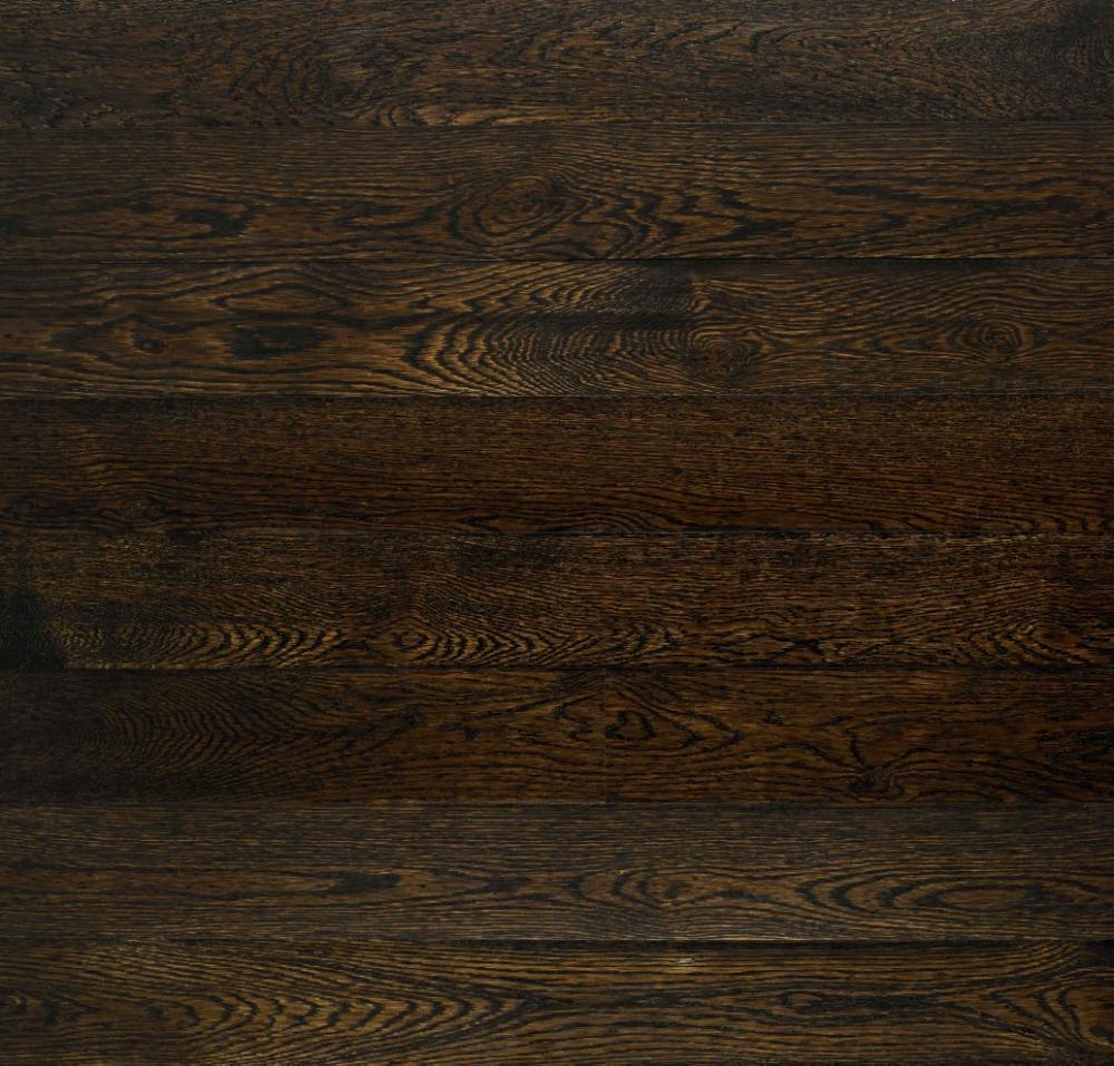 Plank Flooring Oak Dark Brown 100
